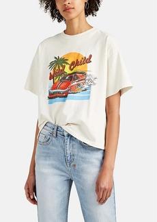 """RE/DONE Women's """"Wild Child"""" Cotton T-Shirt"""