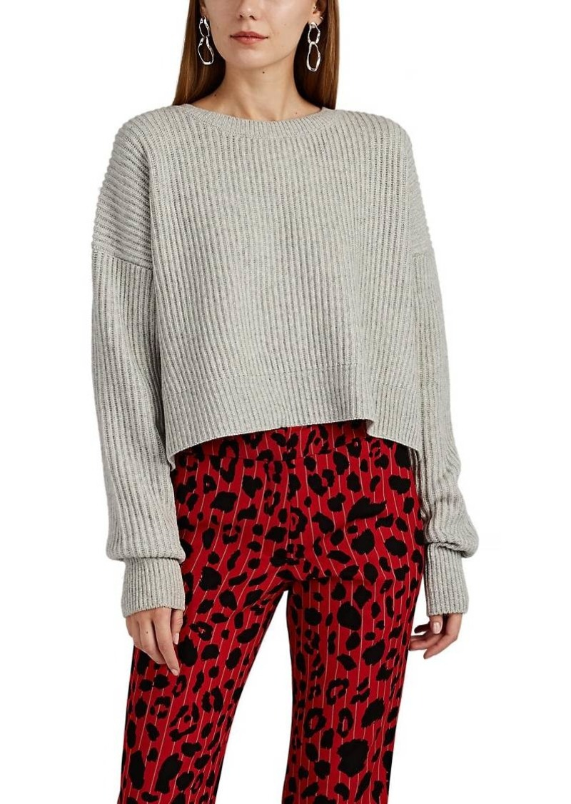 RE/DONE Women's Wool-Cashmere Boxy Sweater