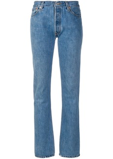 Re/Done x Levi's straight leg jeans