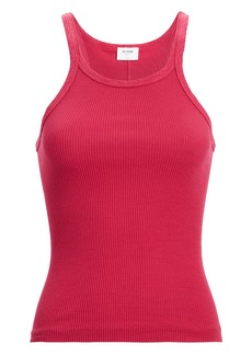 Re/Done Ribbed Cotton Tank