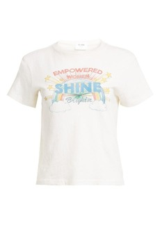 Re/Done Shine Classic Tee