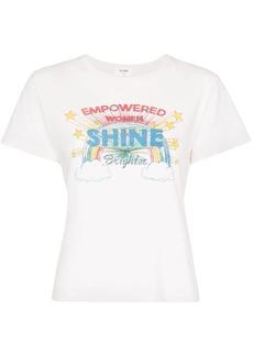 Re/Done Shine graphic print T-shirt
