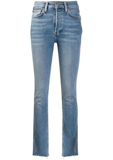 Re/Done skinny faded jeans