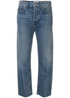Re/Done Stove Pipe straight jeans