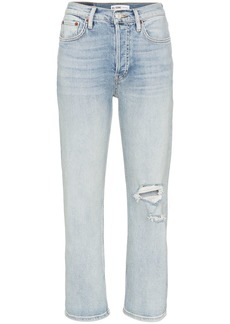 Re/Done Stovepipe straight-leg jeans