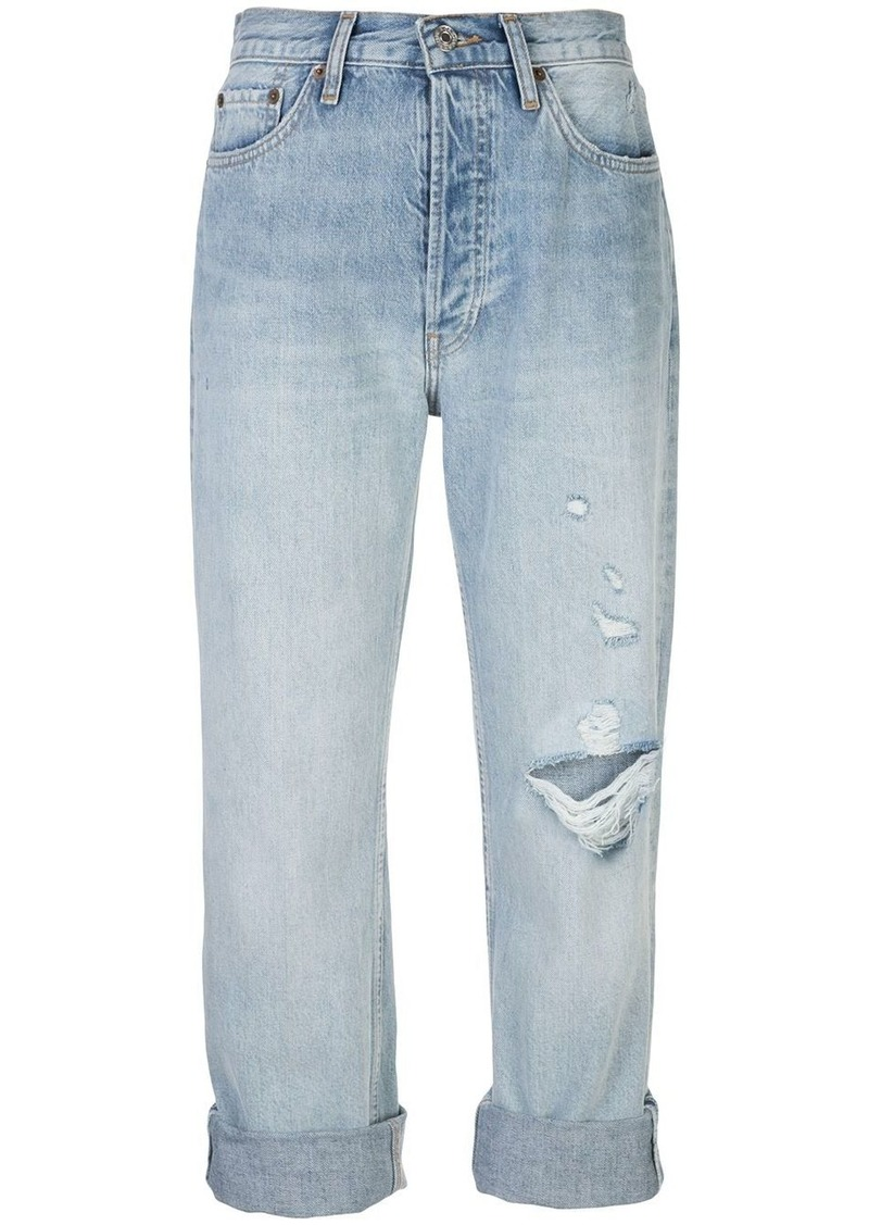 turn up jeans