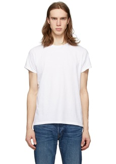 Re/Done White Fitted 50's T-Shirt
