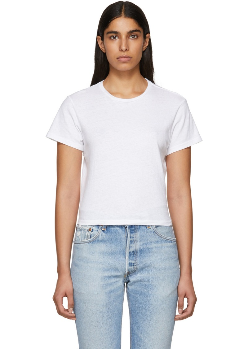 White Hanes Edition 1950's Boxy T-Shirt