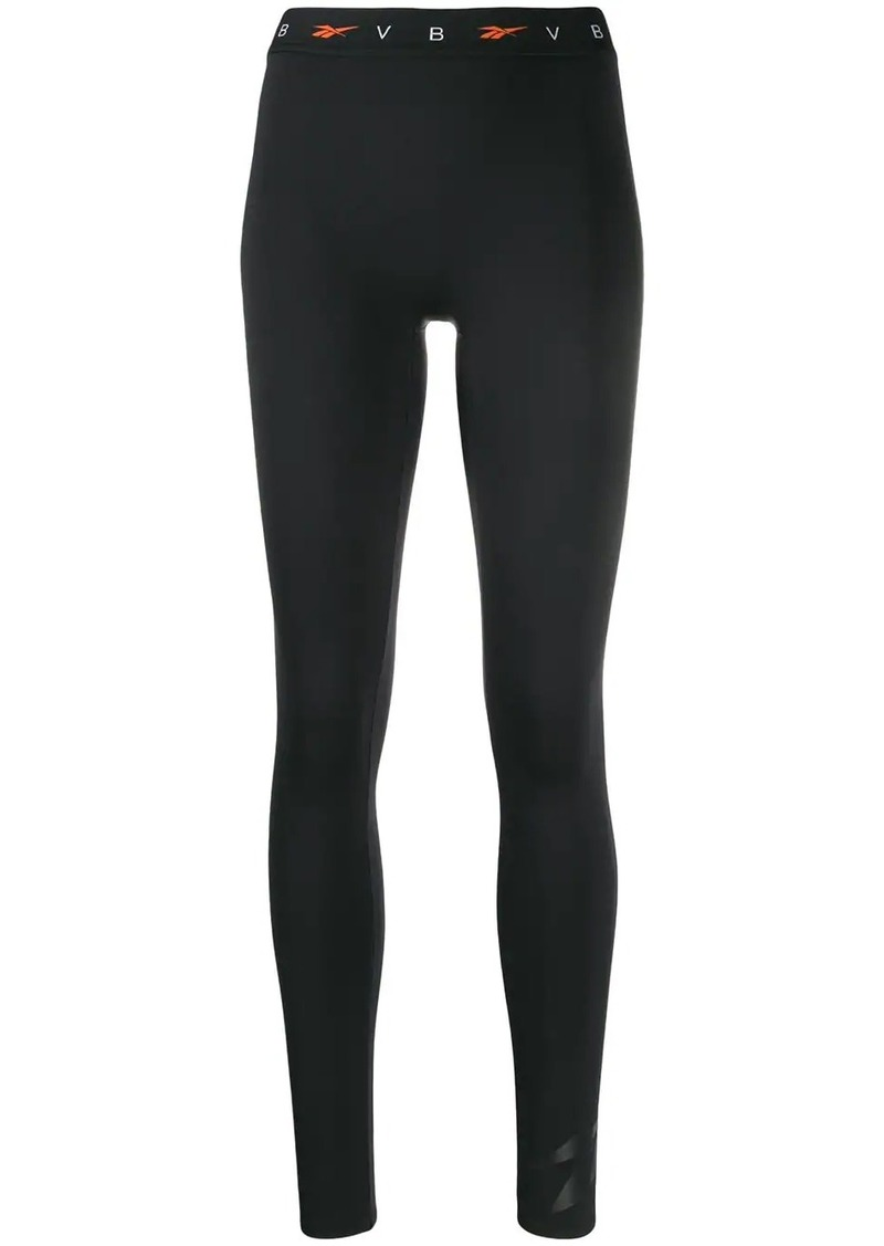 Reebok x Victoria Beckham logo leggins