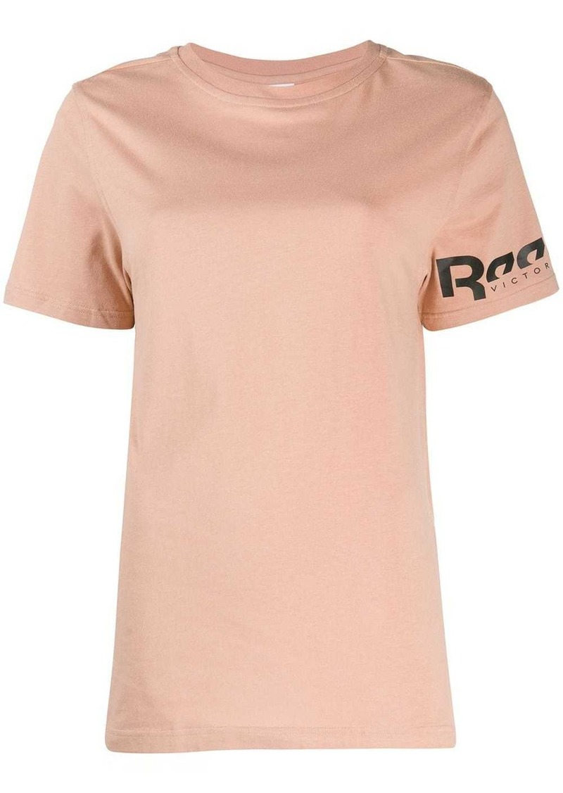 Reebok x Victoria Beckham logo T-shirt