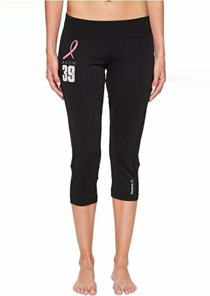 d59234df2927 On Sale today! Reebok Avon Workout Ready Capris Color Block