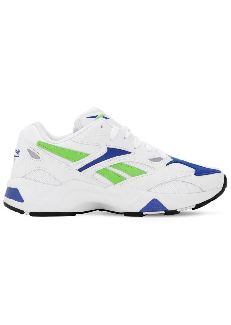 Reebok Aztrek 96 Mesh & Leather Sneakers