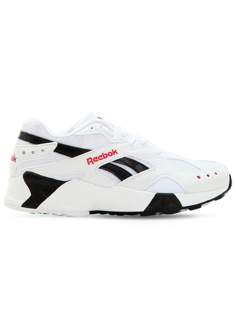 Reebok Aztrek Faux Leather Sneakers