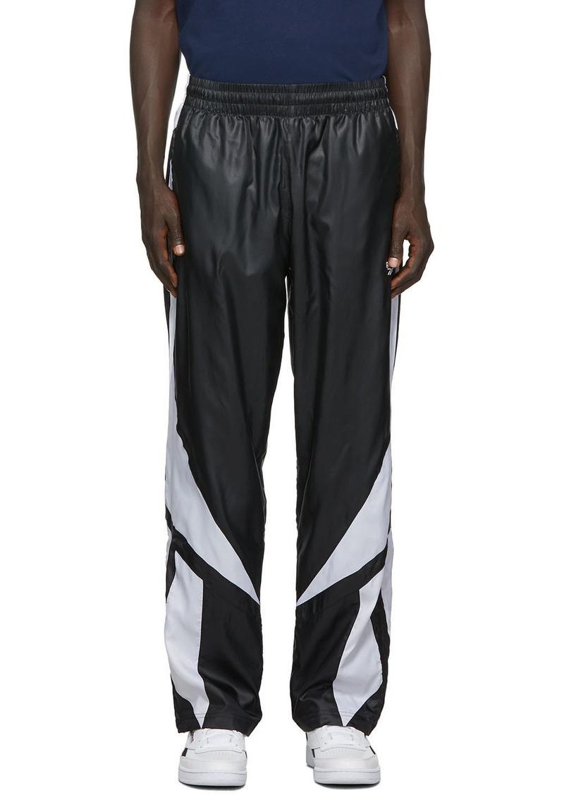 Reebok Black & White Twin Vector Track Pants