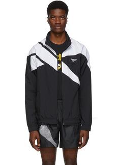 Reebok Black & White Vector Track Jacket