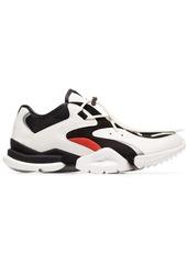 Reebok black and white Run R96 low top sneakers