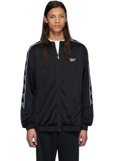 Reebok Black CL F Vector Tape Jacket