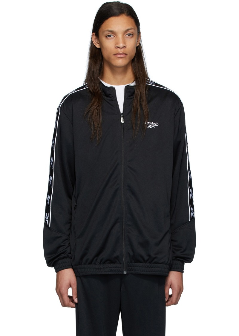 Reebok Black CL F Vector Tape Jacket