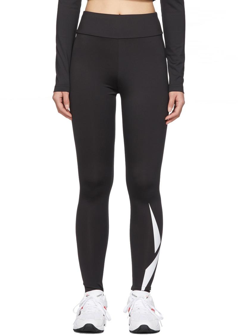 Reebok Black Collection 3 Branded Leggings
