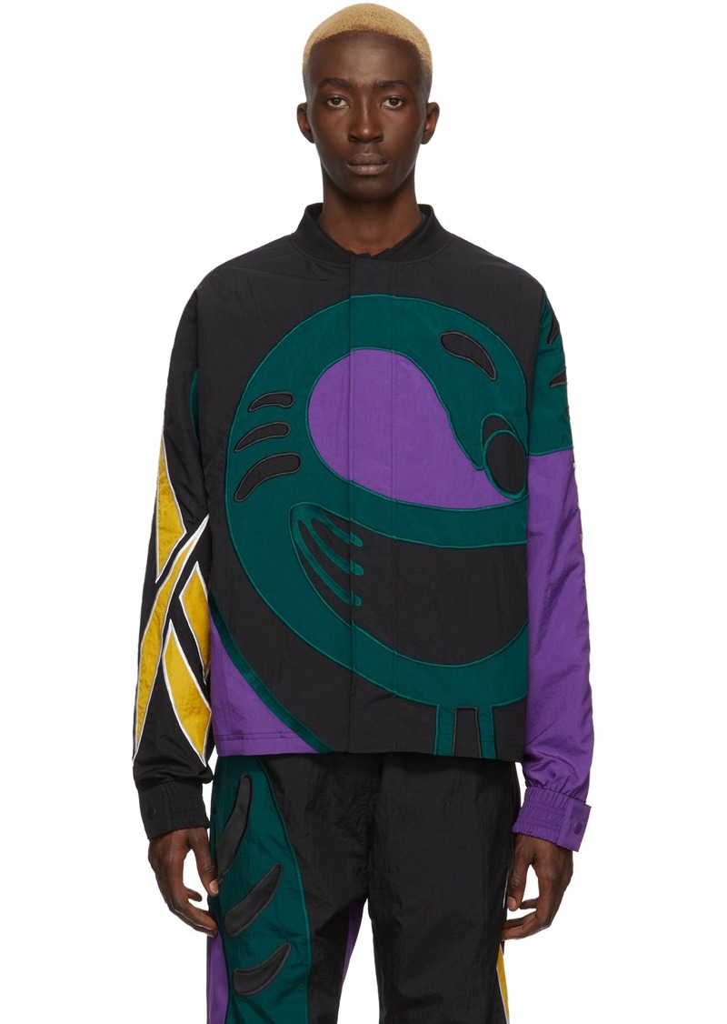 Reebok Black Collection 3 Sankofa Bomber Jacket