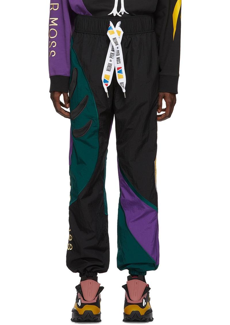 Reebok Black Collection 3 Sankofa Track Pants