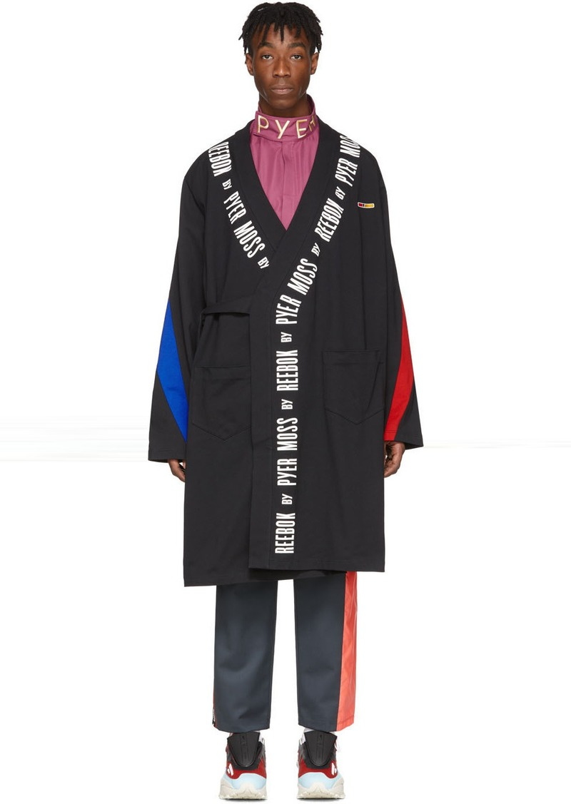 Reebok Black Collection 3 Wrap Coat