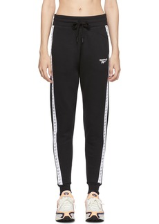 Reebok Black Old School Graphic Jogger Pants