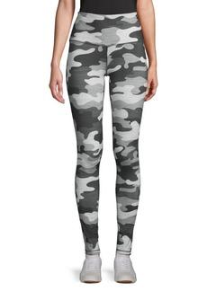 Reebok Camouflage-Print Stretch Leggings