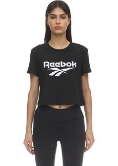 Reebok Cl F Big Logo Cotton Jersey T-shirt