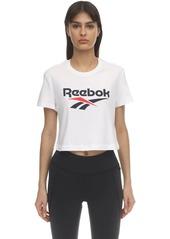 Reebok Cl F Big Logo Cotton T-shirt