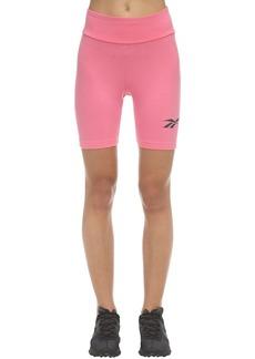 Reebok Cl V Logo Cotton Bike Shorts