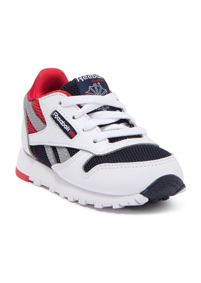Reebok Class Leather Color Block Sneaker (Toddler)