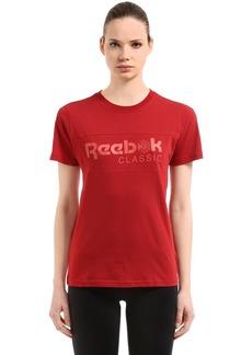 Reebok Classic Logo Cotton Jersey T-shirt