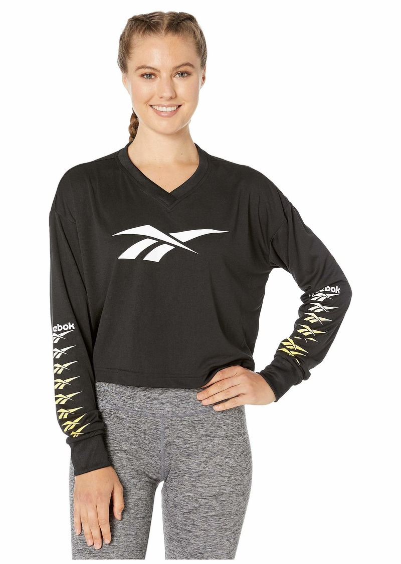 Reebok Classic Vector Performance Cropped Long Sleeve