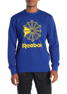 Reebok Classics French Terry Big Iconic Crew Neck Pullover