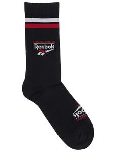 Reebok Classics Graphic Intarsia Crew Socks