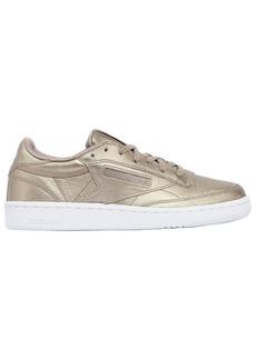 Reebok Club C 85 Hype Metallic Leather Sneakers