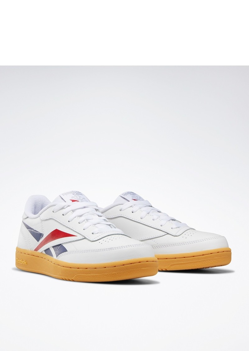Reebok Club C Leather Sneaker (Big Kid)