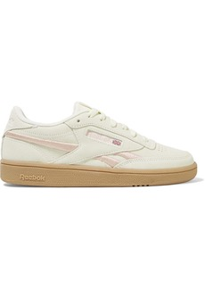 Reebok Club C Revenge Embroidered Suede Sneakers