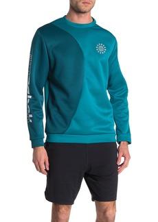 Reebok Colorblock Logo Pullover Sweatshirt
