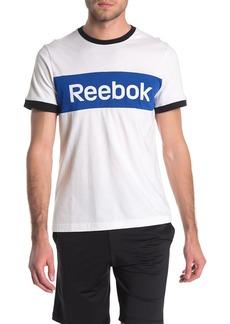 Reebok Colorblock Logo Short Sleeve T-Shirt