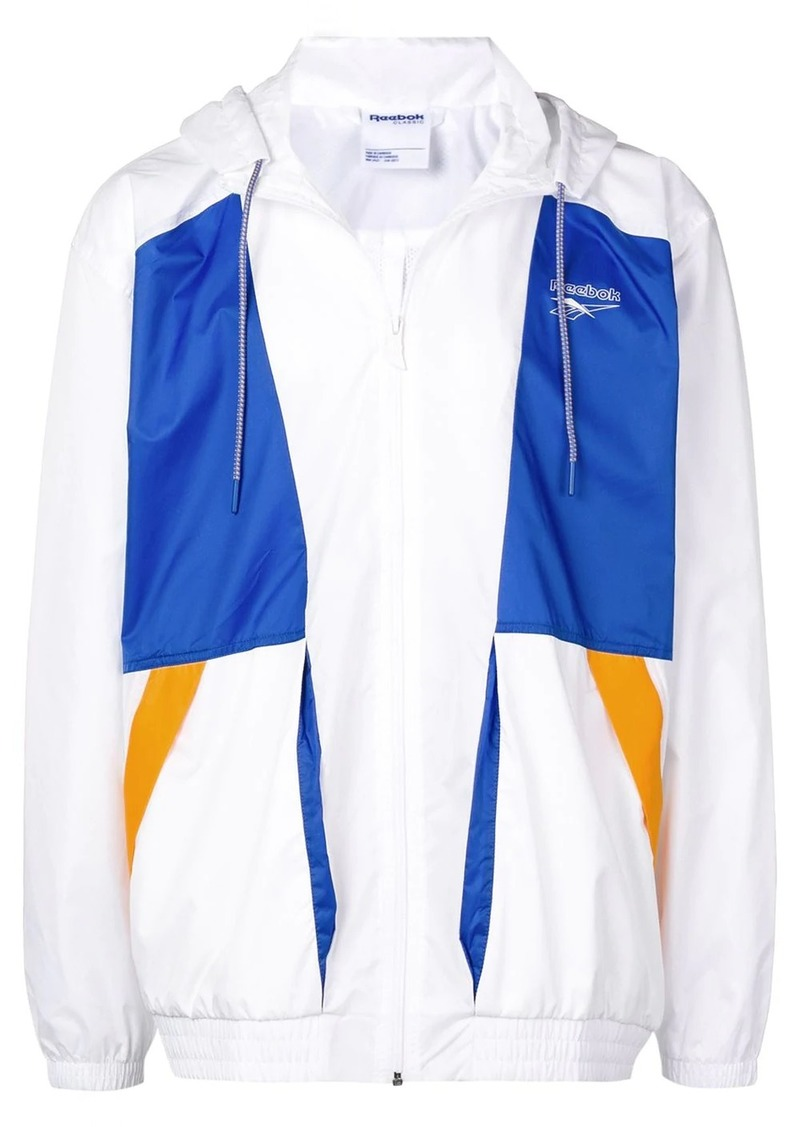 Reebok colour-block jacket