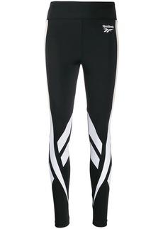 Reebok contrast panel leggings