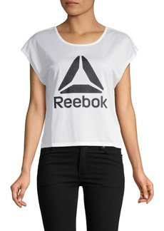 Reebok Courtside Cropped Top