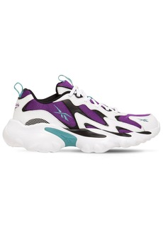 Reebok Dmx Series 1000 Mesh & Leather Sneakers