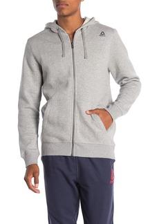 Reebok Elements Fleece Full Zip Hood Jacket