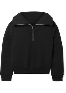 Reebok Embroidered Cotton-jersey Sweatshirt
