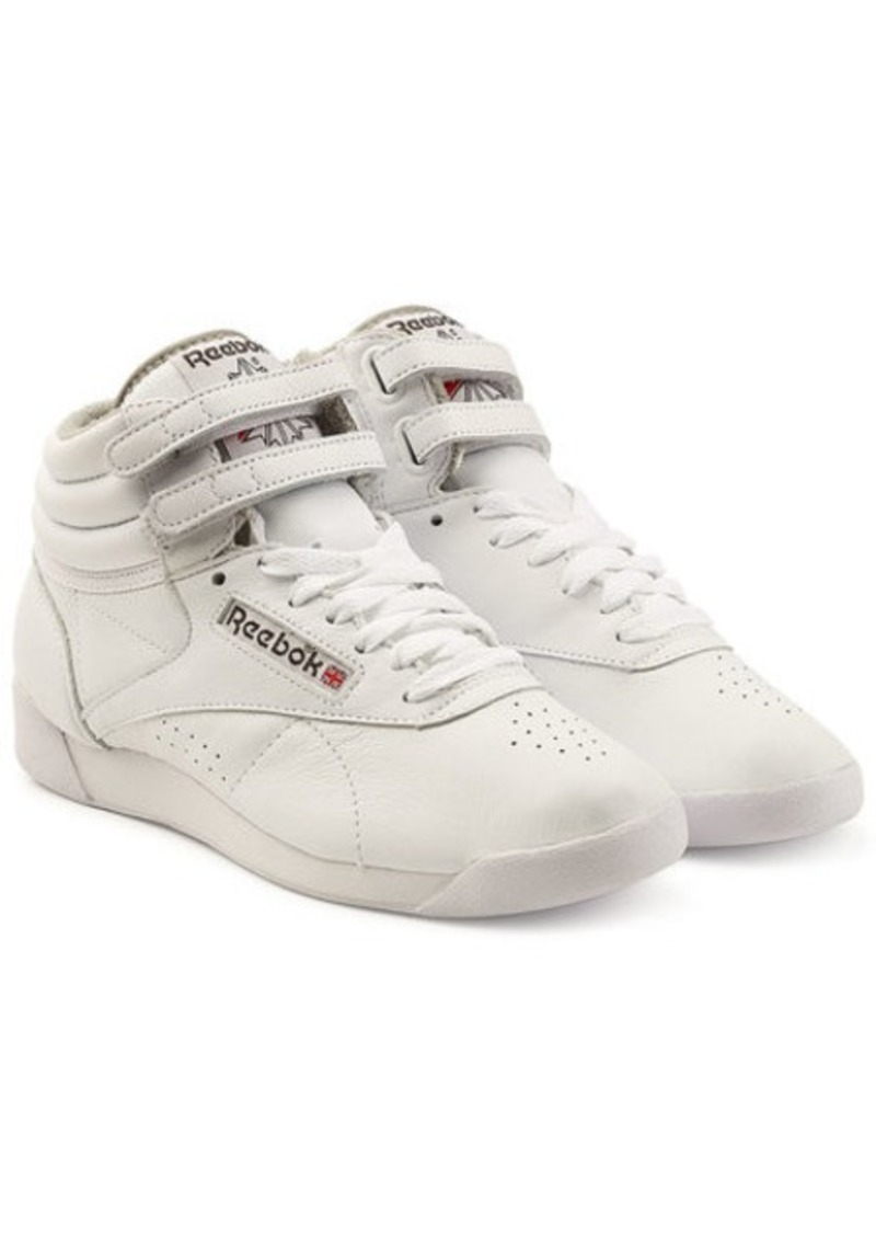 Freestyle Hi Leather Sneakers