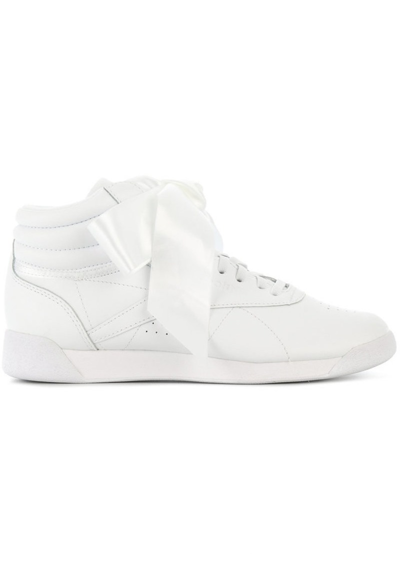 4a91ec3c880ee6 Reebok Freestyle Hi Satin Bow sneakers