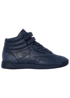 Reebok Freestyle Nubuck High Top Sneakers